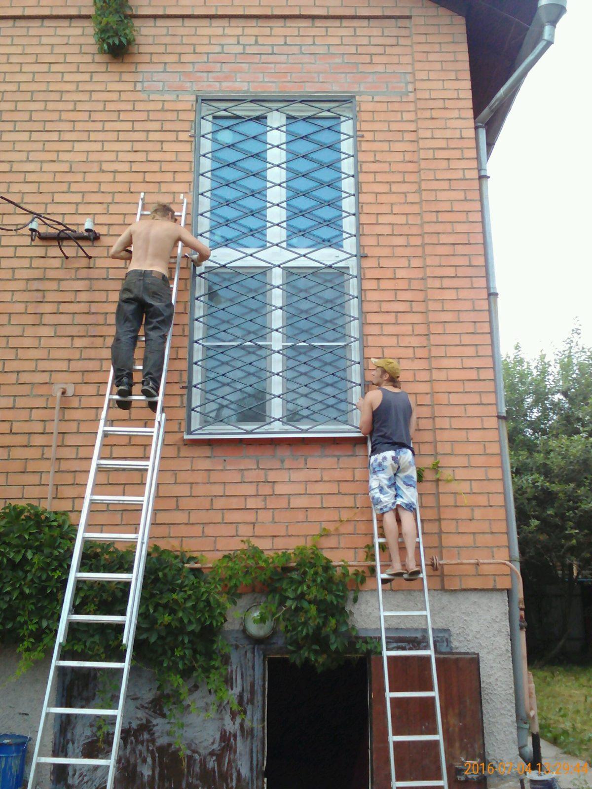 Решетки на окна в долгопрудном