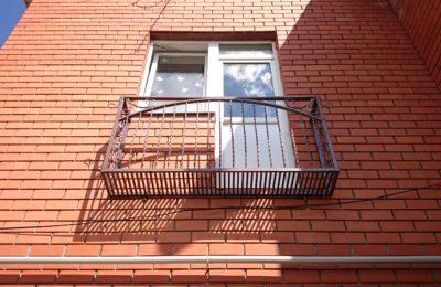 Лобня Металический Балкон с Ковкой