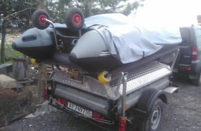 Крепление Лодки к авто прицепу