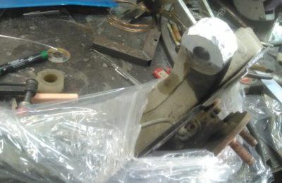 Сварка аргоном алюминиевой ступицы паджеро