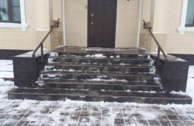 12.2017 Сварка -Перила в Долгопрудном