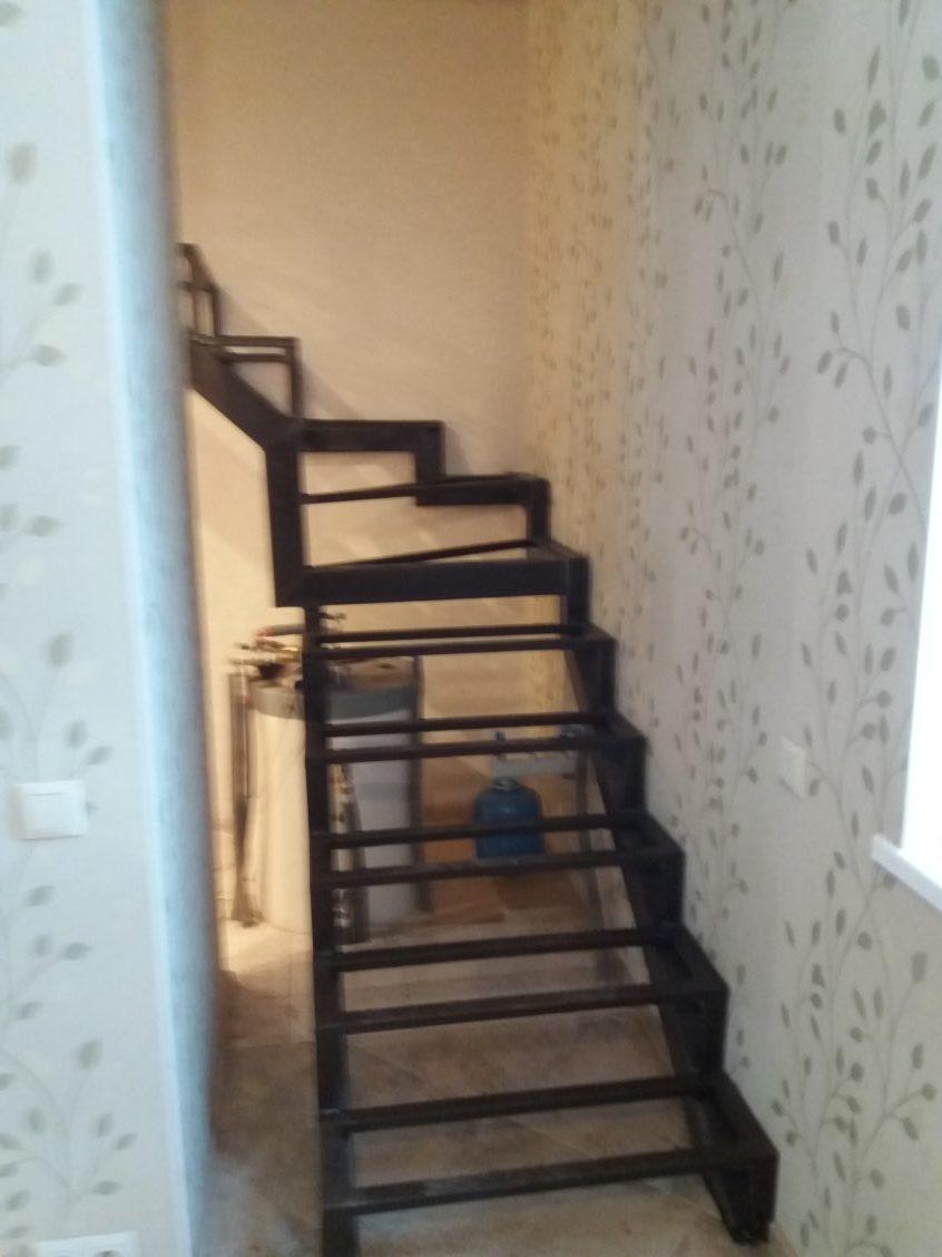 Лестница из проф трубы 60х40