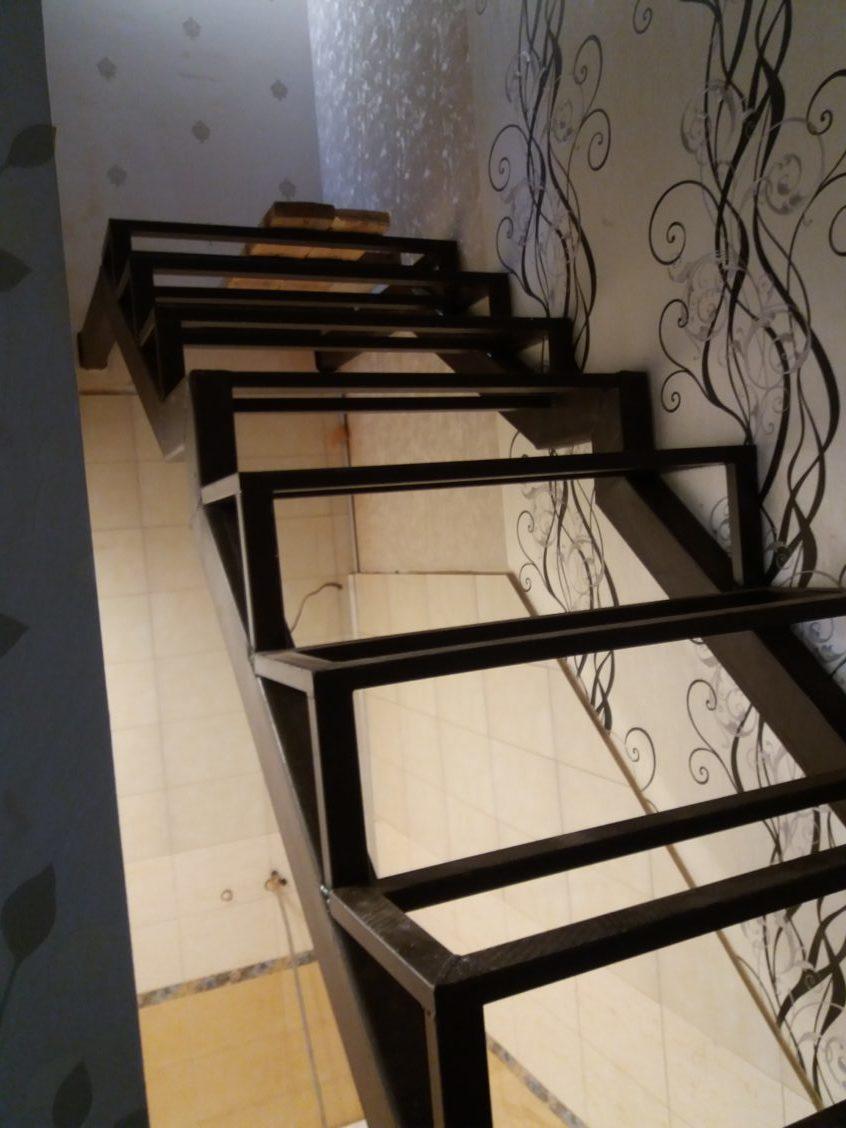 Металлический каркас лестницы Экодолье шолохово