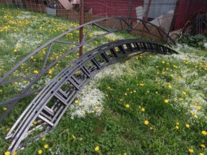 Фермы из метала арки