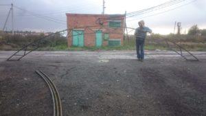Металическая ферма для навеса 8 метров