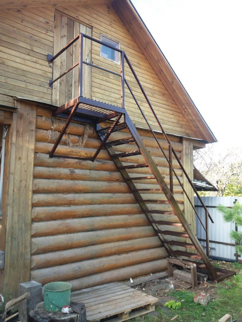 лестница в луговой