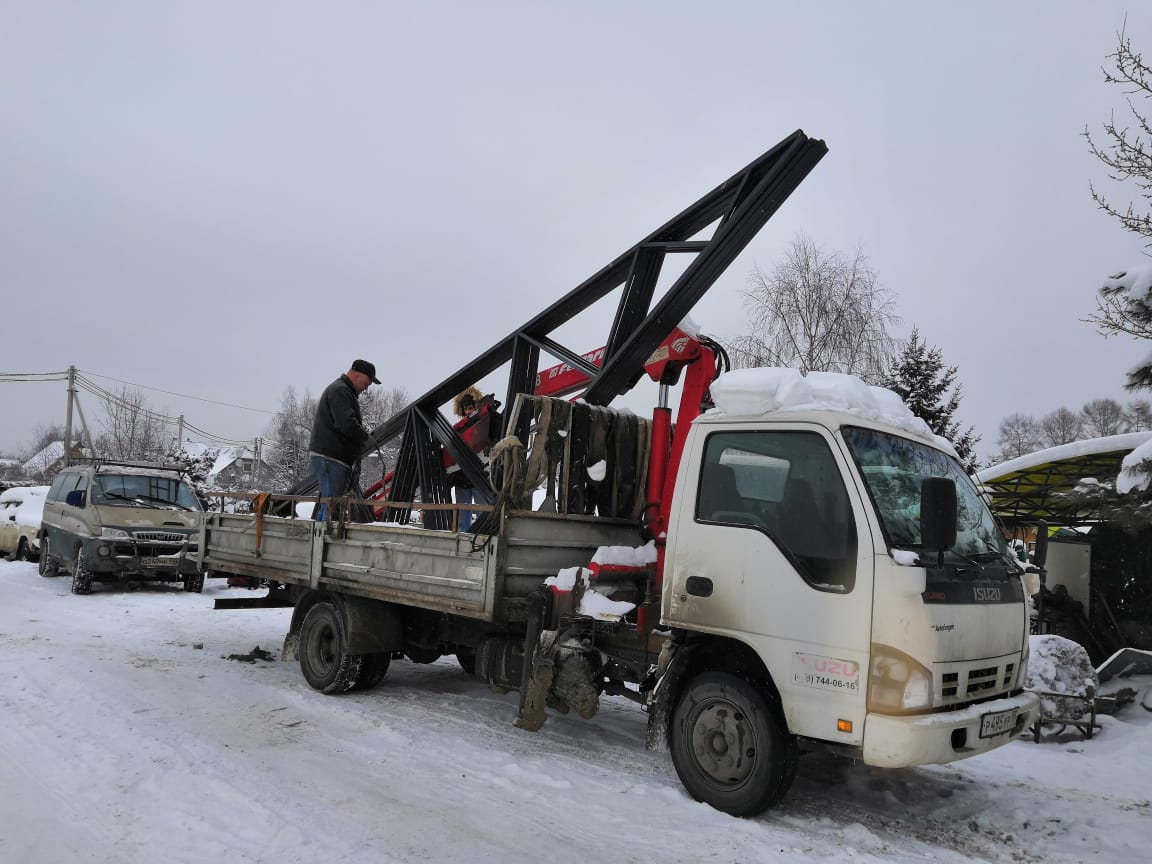 фермы навеса 8.5 м доставка