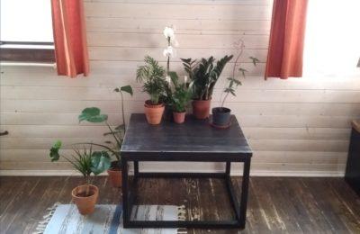Журнальный стол в стиле лофт -Цена 5500руб