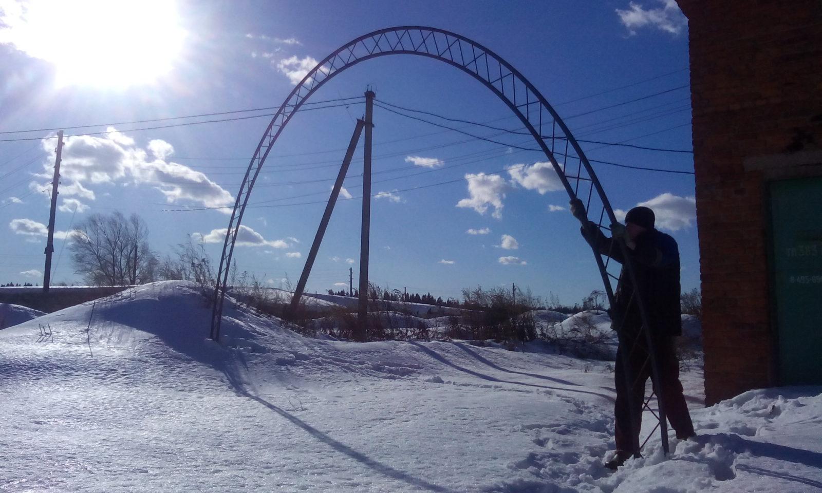 Ферма для ангара 7.5 метра