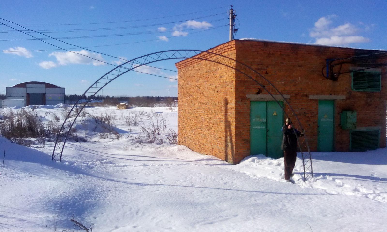 Ферма для склада 7.5 метра