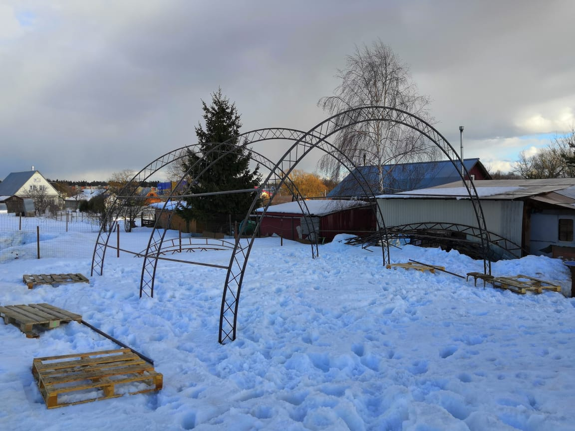 Каркас Ферм арочного Ангара- для самостоятельной сборки