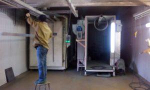 Порошковая покраска в лобне -большая камера  6 метров