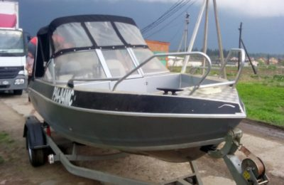 Сварка Аргоном корпуса алюминевой лодки
