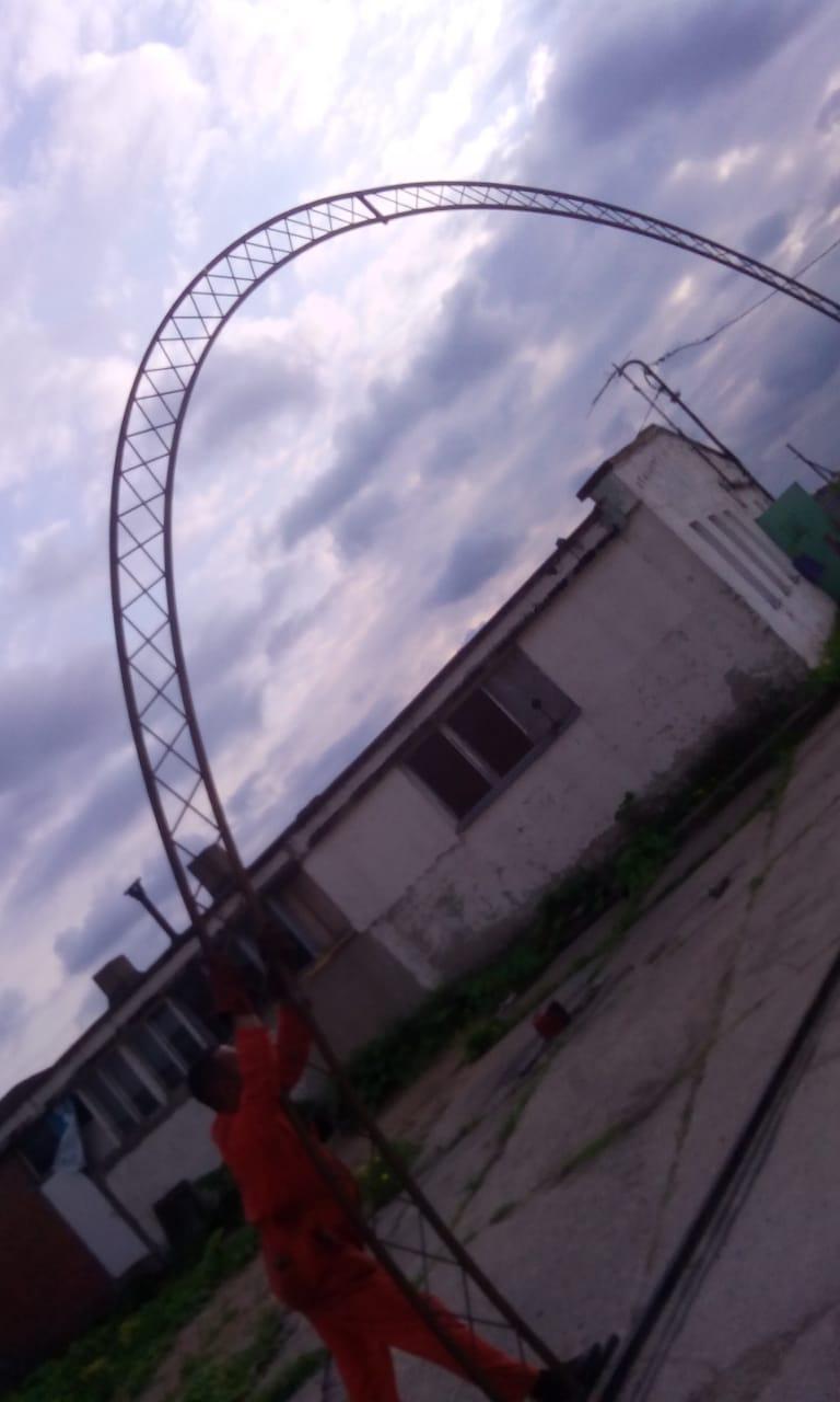 Изготовили Ферму для ангаров 10х5 метров