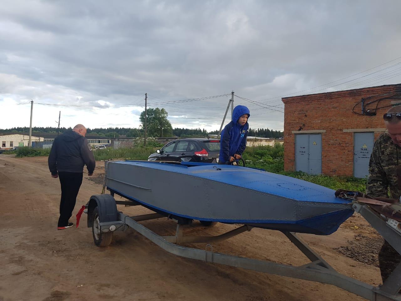 Сварочный ремонт алюминевой лодки аргоном