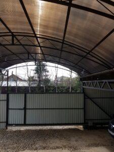 арки на навесе 6м