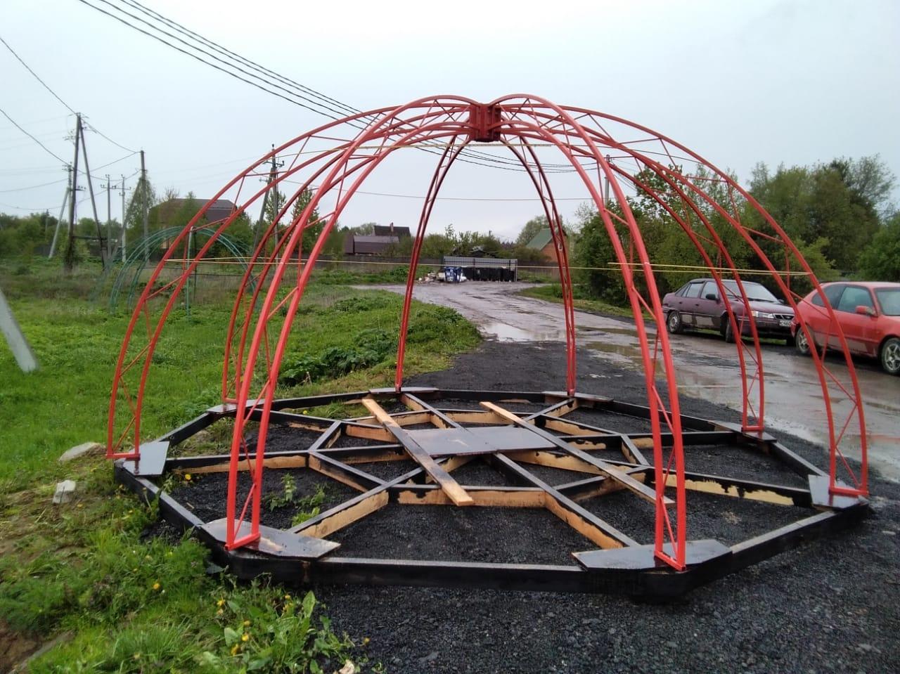 Геокупол каркас 5 метров