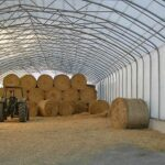 Строительство ангара для хранения сена