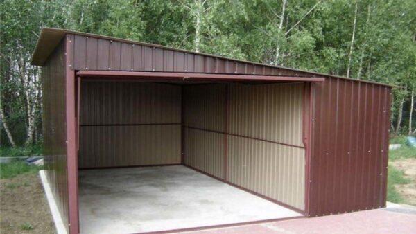 Металлический разборный гараж своими руками – самая подробная инструкция