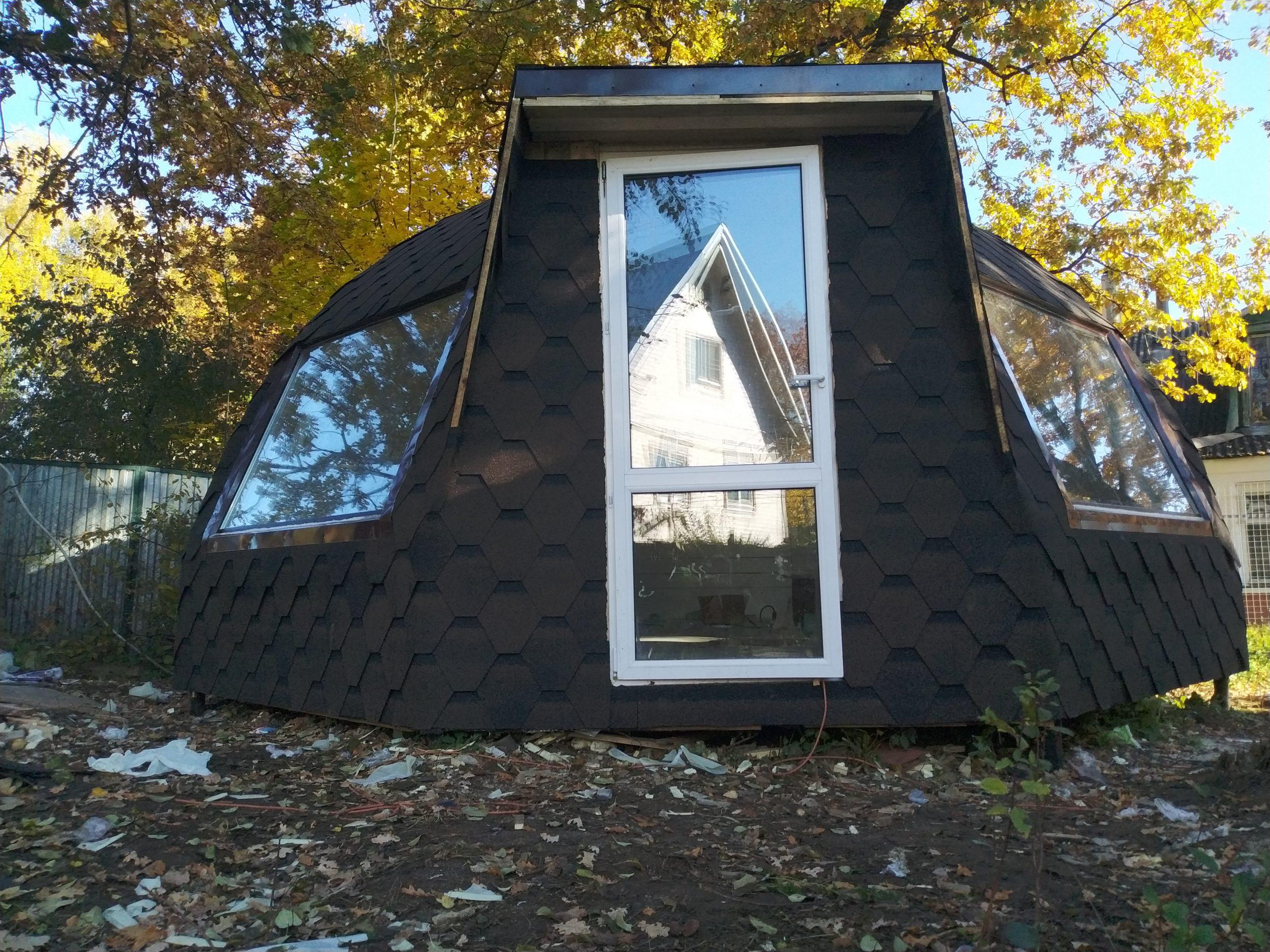 Купольный Дом на металокаркасе